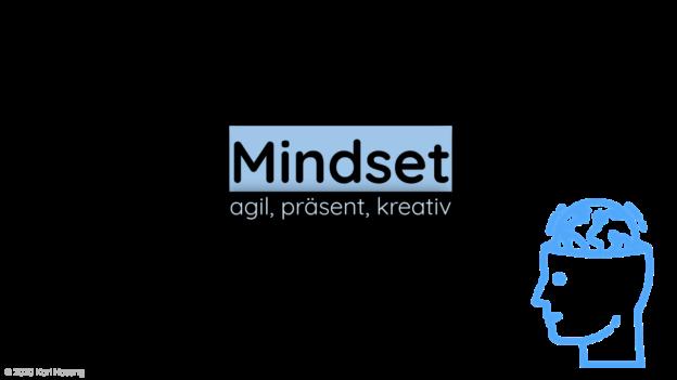 Mindset agil, präsent, kreativ - Coaching - Beratung - Psychologie - Unternehmen - Business-Development