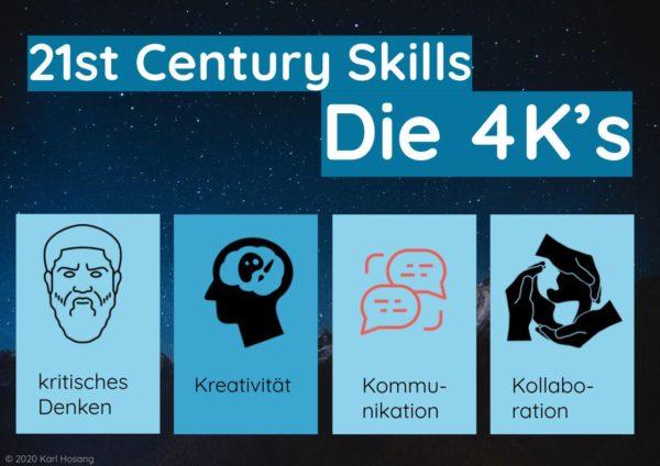21st Century Skills Die 4K's - Online-Kurs MasterClass Speed Learning