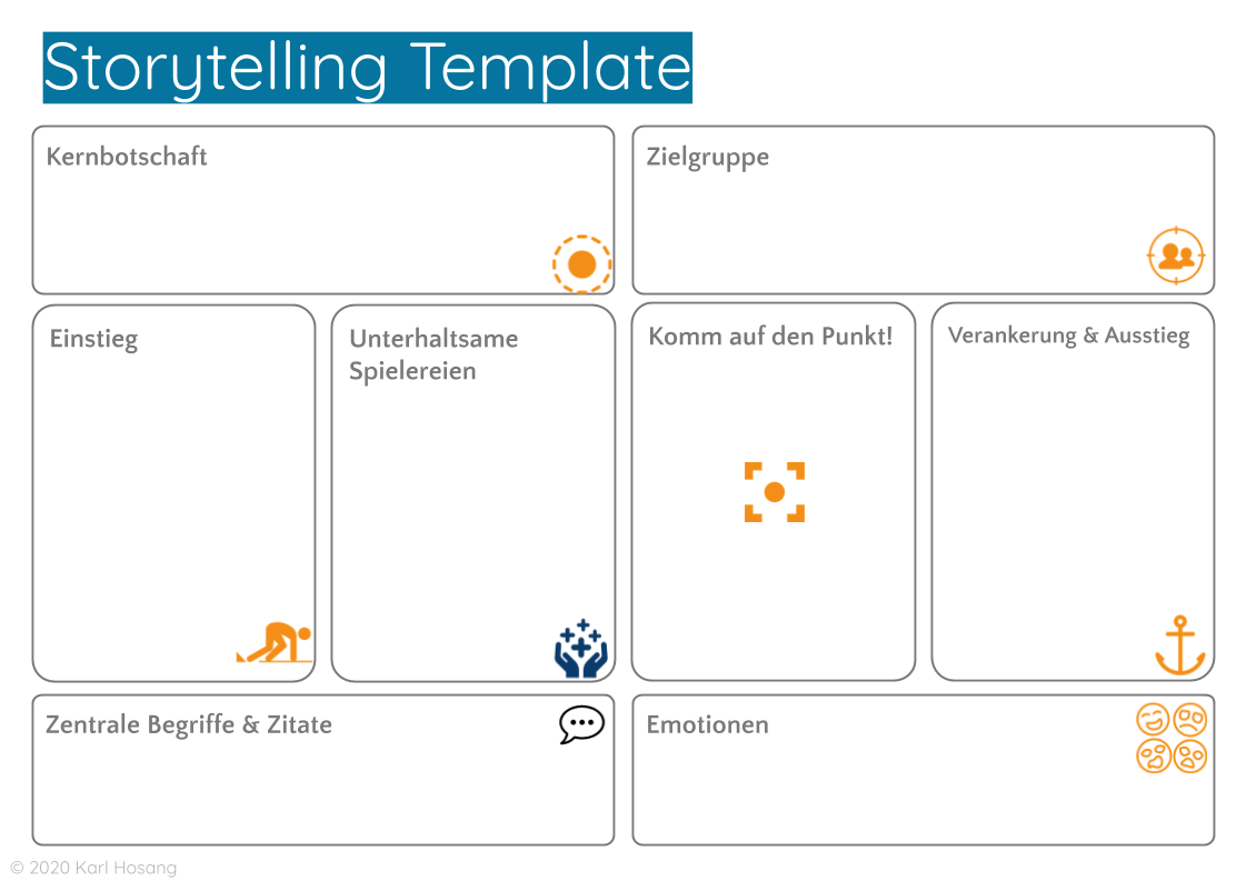 Storytelling Template