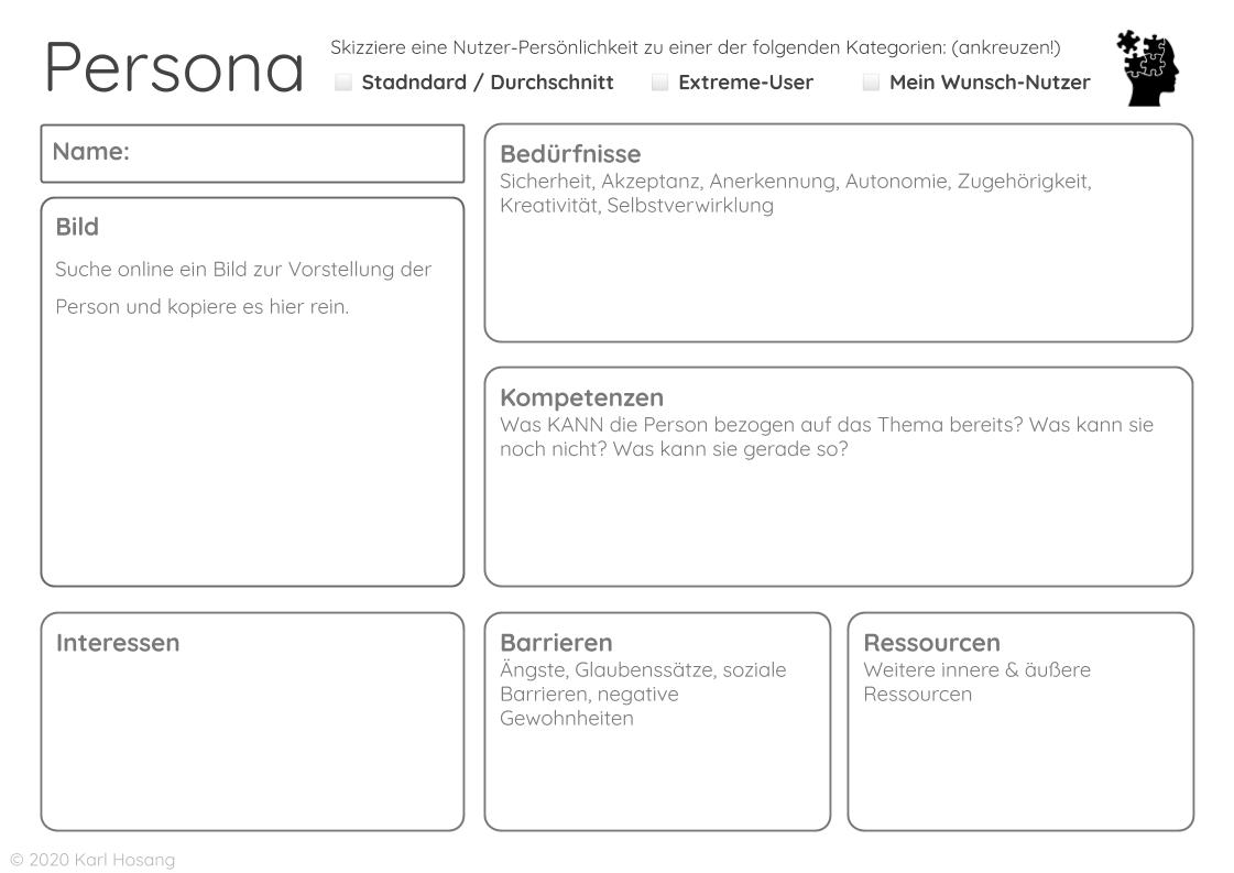 Persona - Differenzlinien - Politisch korrekt - Politische Bildung - Inklusion