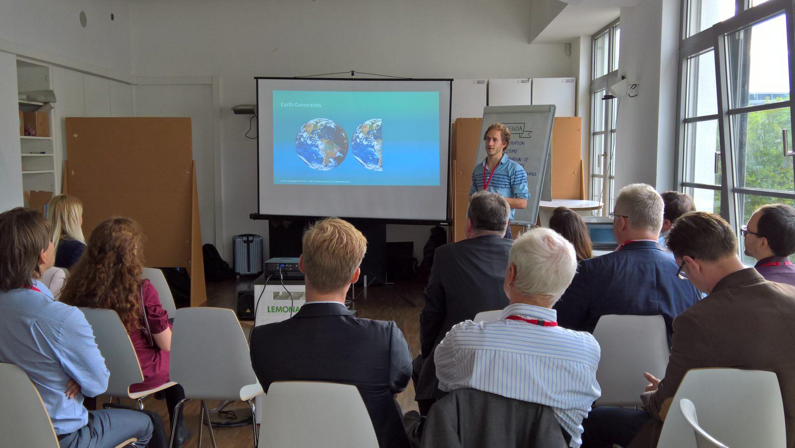 GIZ Lab of Tomorrow zur Zukunft der Elektromobilität und Sektorkopplung.