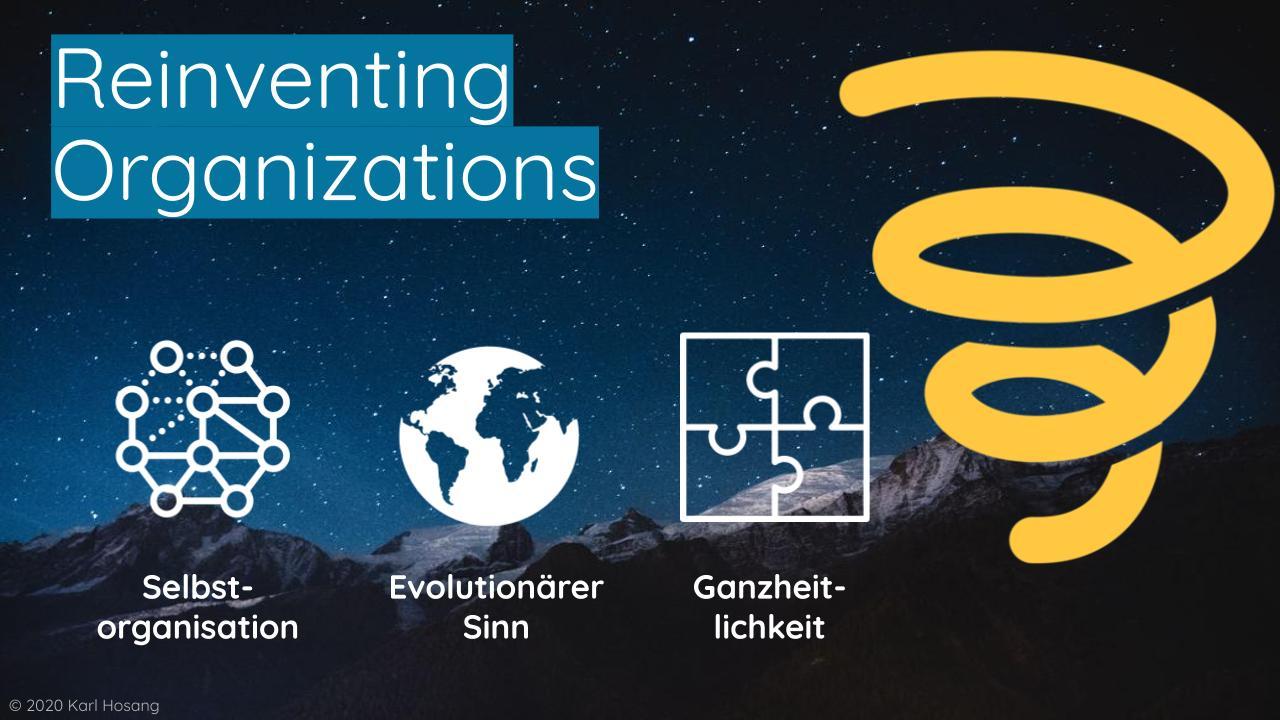 Reinventing Organizations - Organisationsentwicklung Schule - Beratung - Training