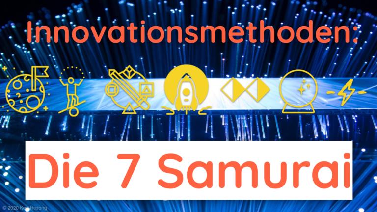 Innovationsmethoden - Effectuation - Moonshot - Future Thinking - Design - Theory U - Disruption