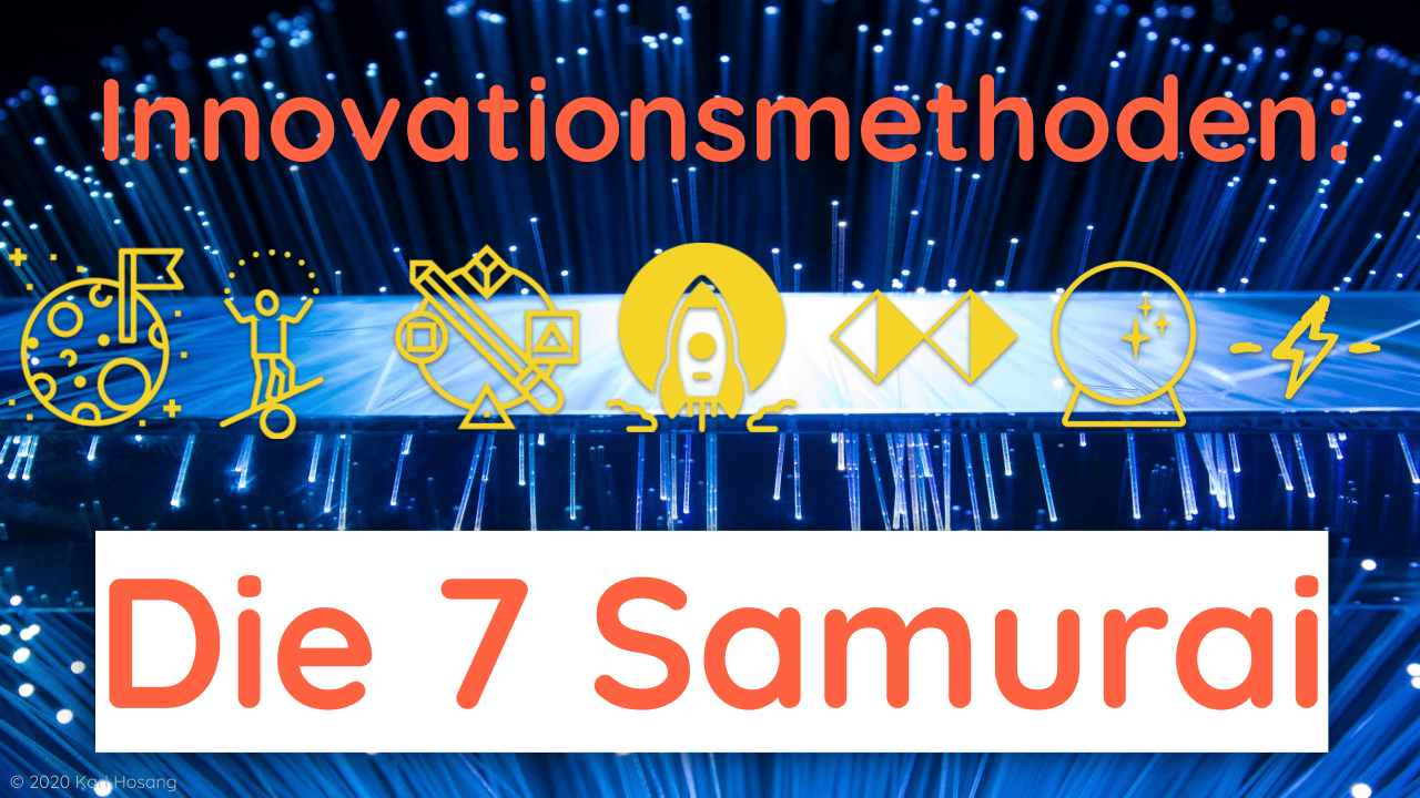 Innovationsmethoden - Effectuation - Moonshot - Future Thinking - Design - Theory U - Disruption
