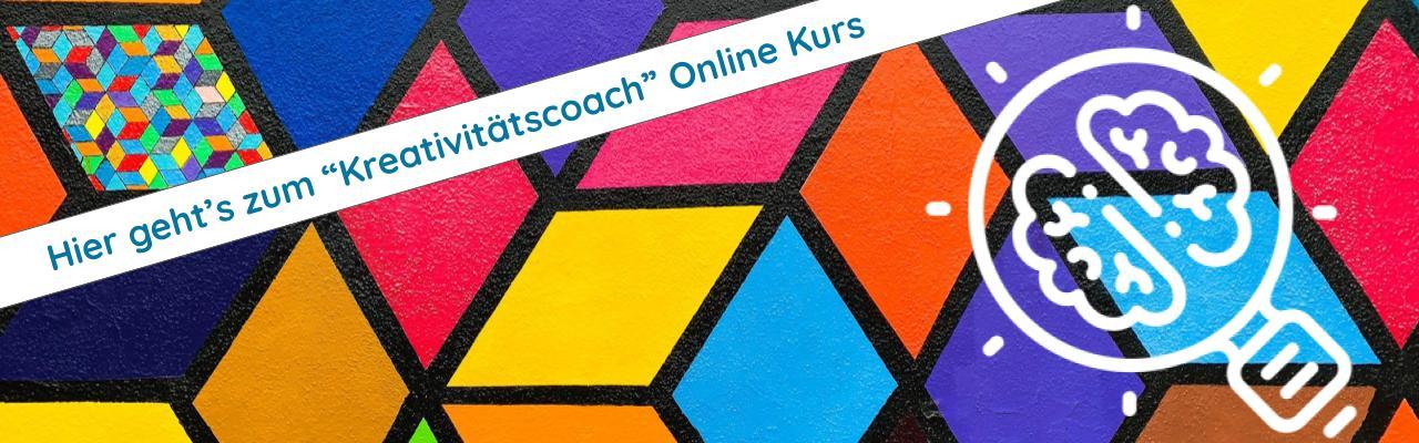Kreativitätscoach Online Ausbildung