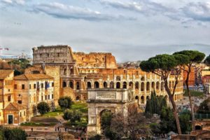 Colosseum Rom Architektur Zivilisation