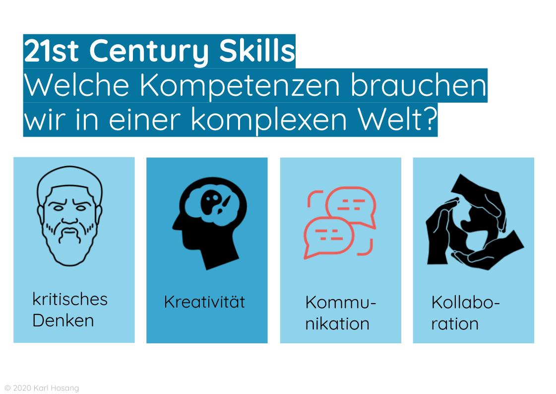 21st Century Skills - Kompetenzen Schule