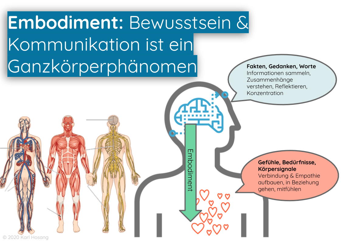 Embodiment - Kommunikation - Beziehung - Empathie - Achtsamkeit